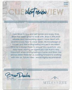 Brian DaSilva Review 2020.08.19