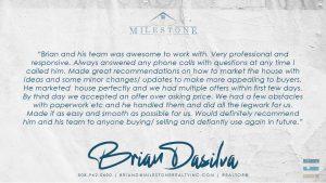 Brian DaSilva Review 2020.08.28