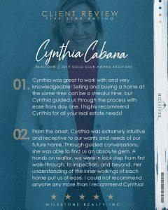 Cynthia Review 2020.03.13