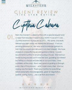 Cynthia Review 2020.07.02