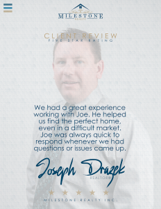 Joseph Drazek Review