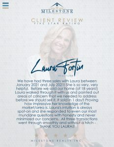 Laura Fortin Review